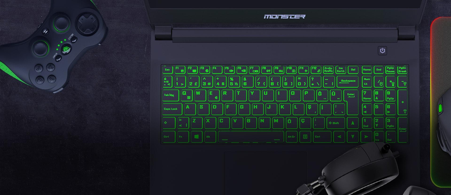 Monster Notebook Abra A5 V16.5