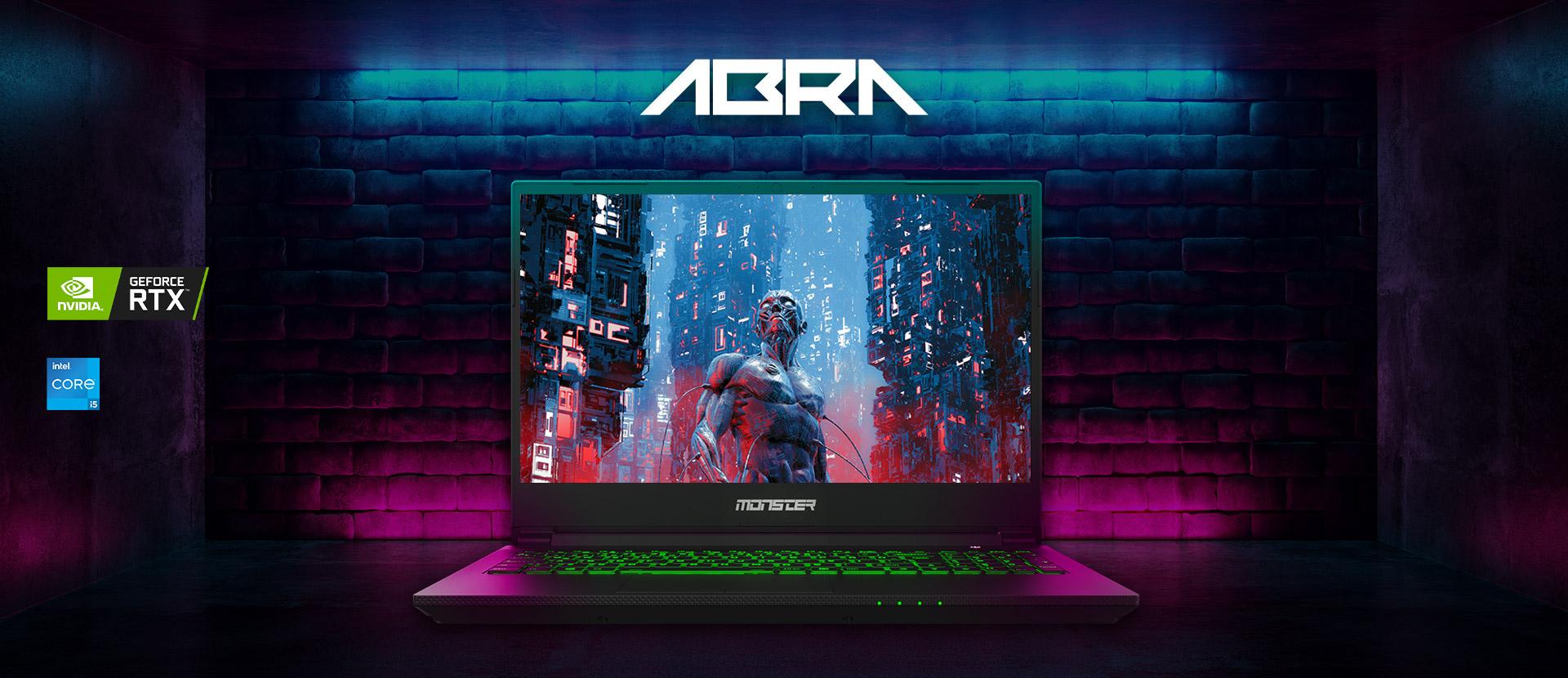 Monster Abra A5 v17.1