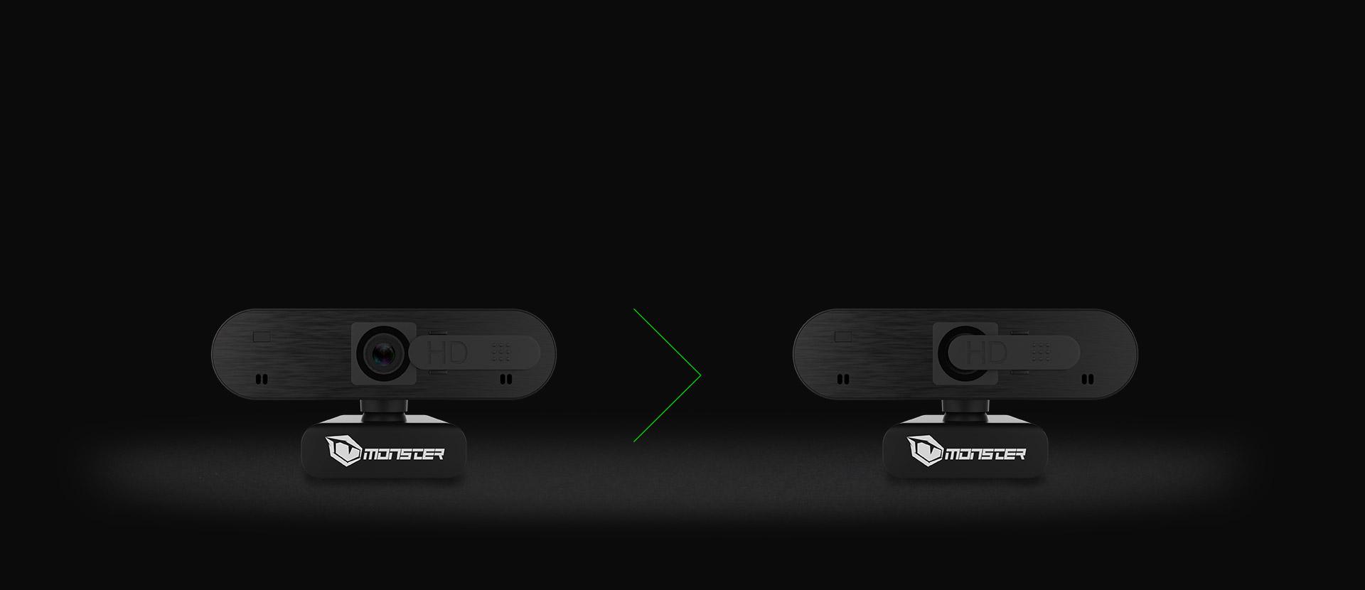 Monster Notebook Pusat Webcam