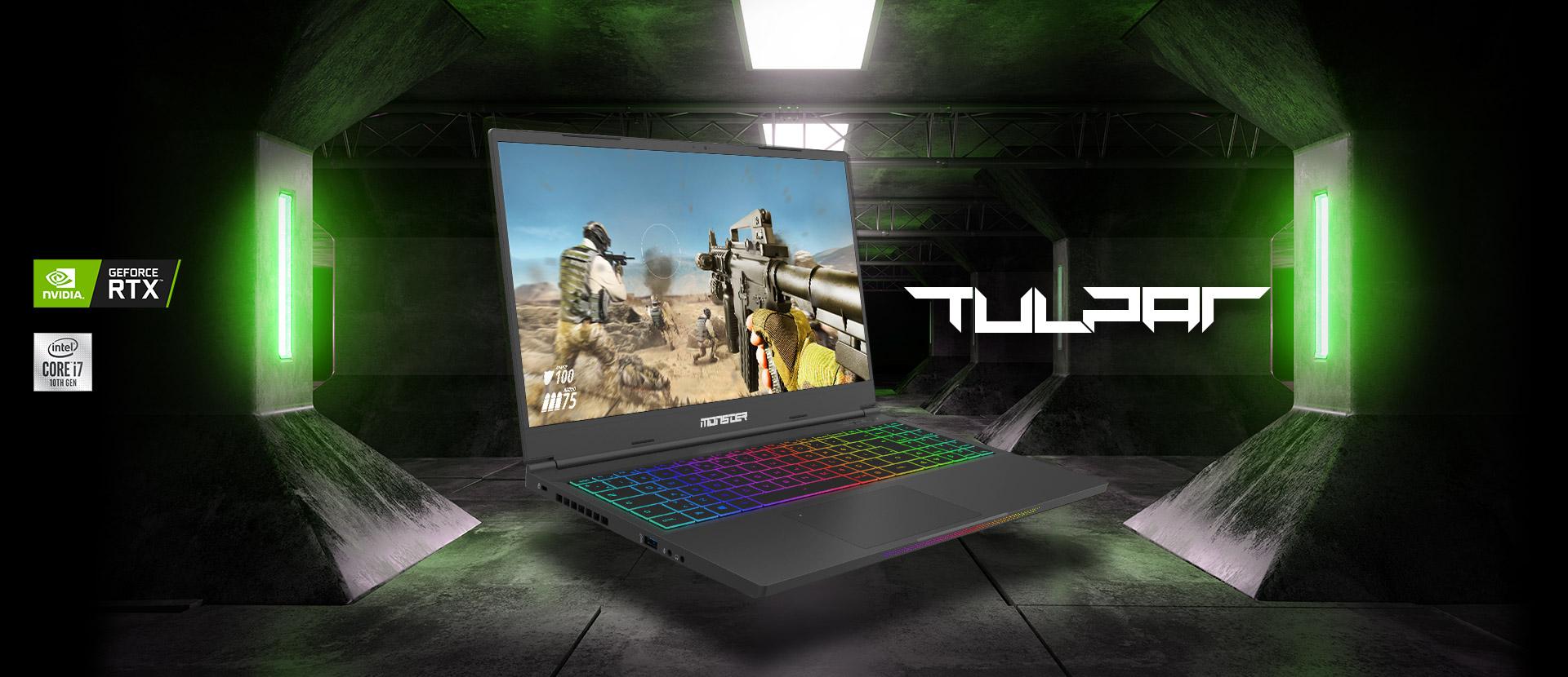Monster Notebook TULPAR T5 V21.5